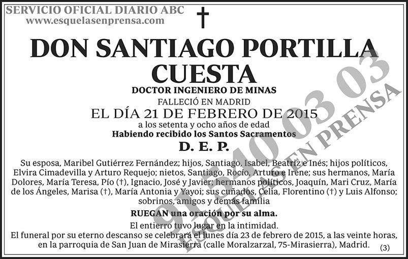 Santiago Portilla Cuesta